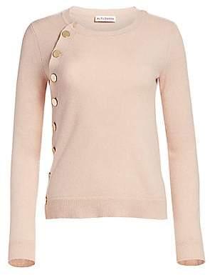 Altuzarra Women's Minamoto Button-Trimmed Cashmere Sweater