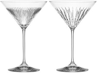 Reed & Barton New Vintage Martini Glasses, Set of 2