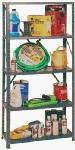EDSAL MFG CO INC - Shelving Unit, 5-Shelf, Steel, 12 x 36 x 72-In.