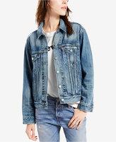 Levi's Cotton Ex-Boyfriend Denim Trucker Jacket