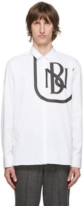 Neil Barrett White Cotton New Logo Shirt