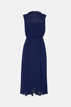 Coast Shirred Top Maxi Dress