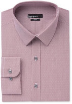 Bar III Men's Slim-Fit Wine Dot-Check Dress Shirt, Only at Macy's