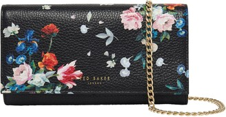 Ted Baker Bllayke Floral Leather Crossbody Bag