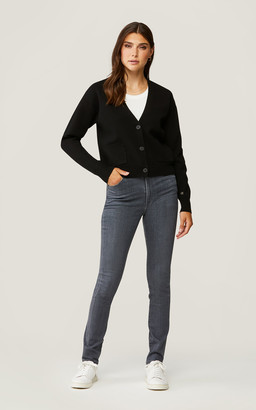 Soia & Kyo CARLA sustainable hip-length knit cardigan