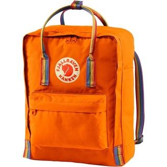 Fjallraven Kanken Rainbow Backpack Orange