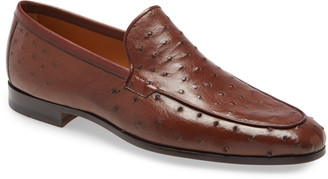 Magnanni Veran Textured Apron Toe Loafer