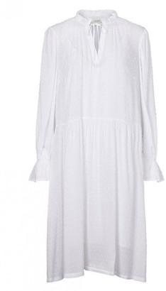 Just Female White Ragna Dress - M