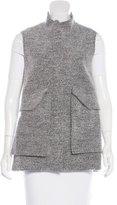Lela Rose Oversize Rib Knit Vest
