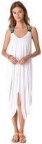 Mara Hoffman Beaded Feather Cover Up Dress