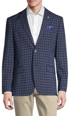 Ben Sherman Stretch-Fit Check Sportcoat