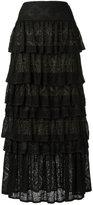 Cecilia Prado knit maxi skirt - women - Acrylic/Lurex/Viscose - P