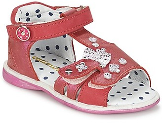 Catimini PUCE girls's Sandals in Pink