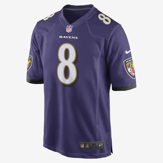 Nike Men's Football Jersey NFL Baltimore Ravens Game (Lamar Jackson)