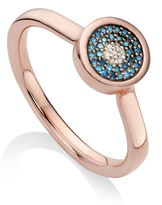Monica Vinader Diamond Evil Eye Ring