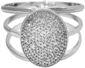 Thalia Sodi Pave Oval Triple-Row Bangle Bracelet, Created for Macy's