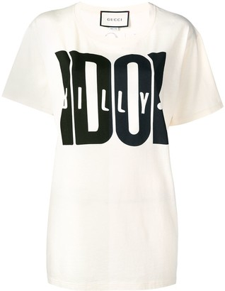 Gucci Billy Idol print T-shirt