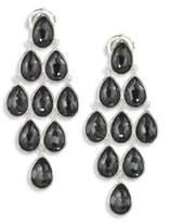 Ippolita Rock Candyé Clear Quartz, Hematite & Sterling Silver Teardrop Cascade Earrings