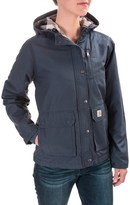 Carhartt Fryeburg Jacket - Insulated, Flannel Lined, Factory Seconds (For Women)