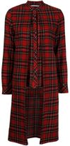 Rosetta Getty tartan pattern shirt