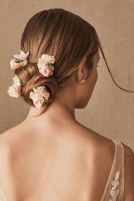 Les Couronnes De Victoire Romy Preserved Flower Hair Pins
