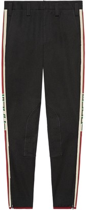 Gucci Gabardine stretch trousers