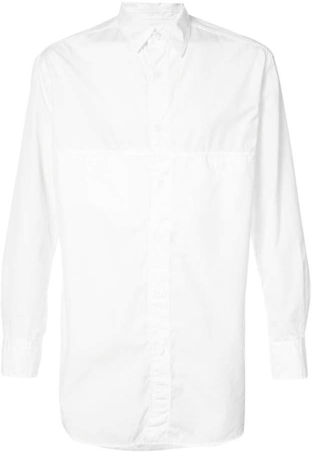 Yohji Yamamoto chain stitch shirt