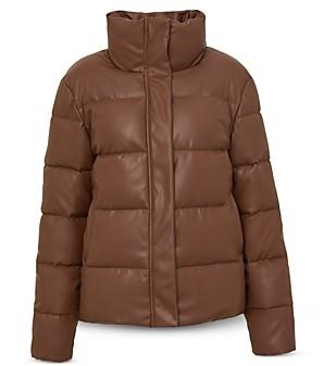 Unreal Fur Plus Size Major Tom Puffer Jacket