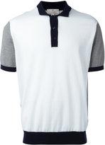 Canali contrast polo shirt - men - Cotton - 58