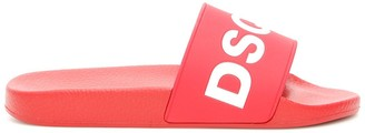 DSQUARED2 Logo Pool Slides