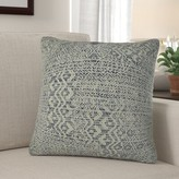 "Bettsville Zig Zag Pillow Foundry Select Size: 12"" x 20"", Fill Material: H-allrgnc Polyfill"