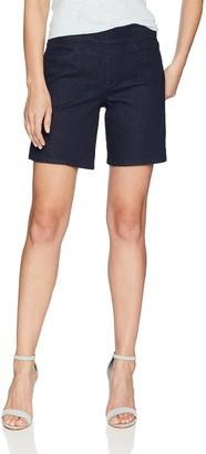 NYDJ Women's Pull On Short with Side Slit in Premium Denim