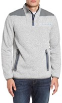 Vineyard Vines Men's Shep Quarter Zip Fleece Sweater