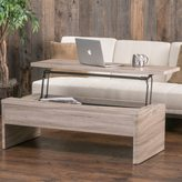 Christopher Knight Home Xander Functional Lift-Top Wood Storage Coffee Table