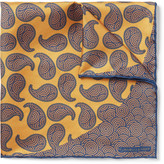 Turnbull & Asser - Printed Silk-twill Pocket Square