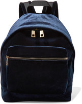 Sandro Velvet backpack