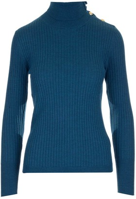 Barena Turtleneck Rib Knitted Sweater