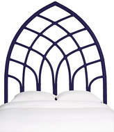 David Francis Furniture Cathedral Headboard - Perfect Purple
