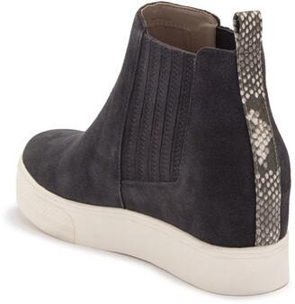 Dv Footwear Wesly Suede Wedge Sneaker