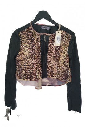 Diesel Multicolour Leather Leather jackets