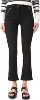 Veronica Beard Cropped Patch Pocket Pants