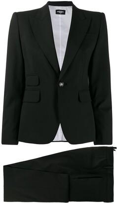 DSQUARED2 plain trouser suit