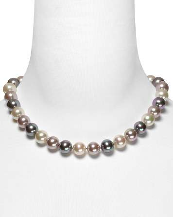 Majorica Multi Simulated Pearl Necklace, 17""