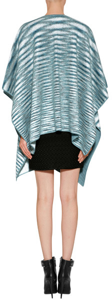 Missoni Mohair-Wool Blend Knit Poncho