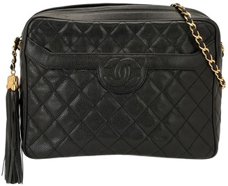 Chanel Pre Owned 1997 Tassel Detail Shoulder Bag
