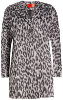 HUGO Printed Coat with Wool