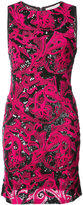 Alice + Olivia Alice+Olivia embellished fitted dress
