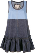 Marc Jacobs denim swing dress - women - Cotton - XS