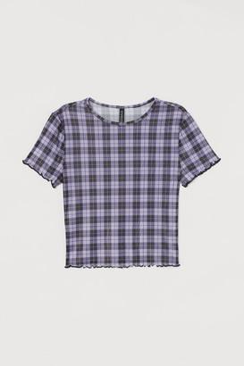 H&M Short Top - Purple
