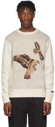 Woolrich Aime Leon Dore Beige Edition Hawk Sweater
